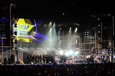 出演者、勢揃い! 〜 復興支援イベント『K-POP All star Live in Niigata』 (C)ORICON DD inc.
