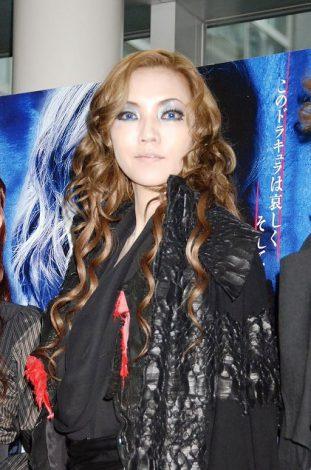 『ミュージカル ドラキュラ』とのコラボ企画、献血普及イベントに出席した和央ようか (C)ORICON DD inc.