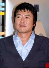 NHKの連続ドラマ『ビターシュガー』の記者会見に出席した豊原功補 (C)ORICON DD inc.