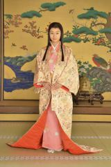 NHK大河ドラマ『江〜姫たちの戦国〜』で初の時代劇に挑戦する忽那汐里(C)NHK