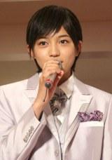映画化が発表されたTBS系ドラマ『桜蘭高校ホスト部』のファンイベントに出席した川口春奈 (C)ORICON DD inc.