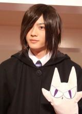 映画化が発表されたTBS系ドラマ『桜蘭高校ホスト部』のファンイベントに出席した竜星涼 (C)ORICON DD inc.