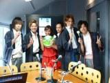 ユーストリーム放送番組『福井仁美のレッツぷよぷよ!!パーティー』に生出演した新選組リアン