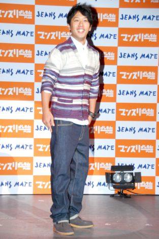 「よしもとオシャレ芸人ランキング 2011」でジーンズが似合う芸人に選ばれたライセンス・井本貴史 (C)ORICON DD inc.