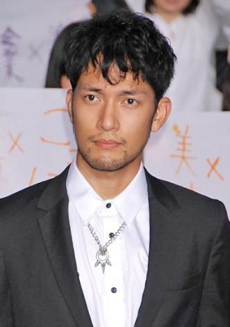 主演映画『DOG×POLICE 純白の絆』の完成披露イベントに出席した阿部進之介 (C)ORICON DD inc.