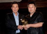 役所広司、主演映画のグランプリ受賞に歓喜