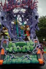 東京ディズニーランドの期間限定パレード『ウェルカム・トゥ・スプーキーヴィル』 (C)ORICON DD inc.