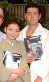 (左から)田畑智子、宅間孝行 (C)ORICON DD inc.