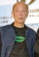 舞台『あヽ、荒野』製作発表会に出席した蜷川幸雄氏 (C)ORICON DD inc.