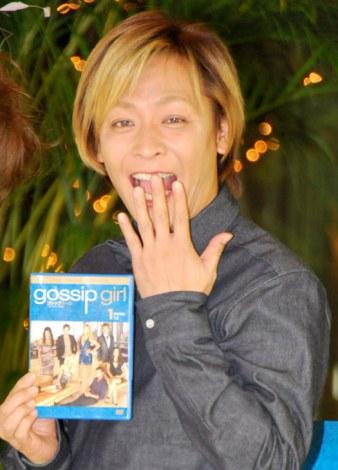 海外ドラマ『ゴシップガール<サード・シーズン>』DVD発売記念トークショーに出席した小椋ケンイチ (C)ORICON DD inc.