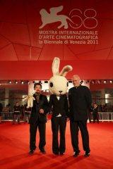 清水監督がラビットとベネチア映画祭に登場