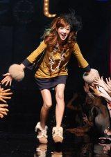 宝島社主催『sweet collection 2011』ファッションショーに出演したほしのあき (C)ORICON DD inc.