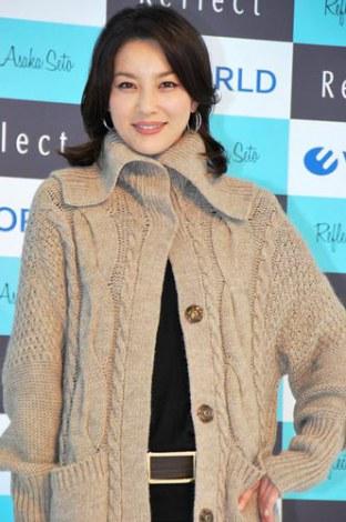 サムネイル ファッションブランド『Reflect』の秋冬新商品で、洋服を初プロデュースした瀬戸朝香 (C)ORICON DD inc.