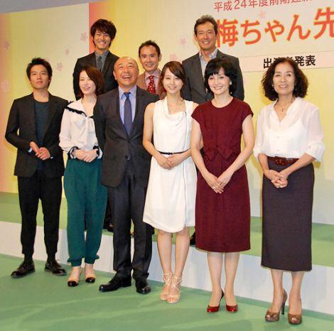 テレビ小説の美村里江