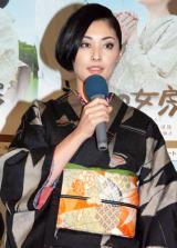NHK土曜ドラマスペシャル『神様の女房』の試写後会見に出席した常盤貴子 (C)ORICON DD inc.