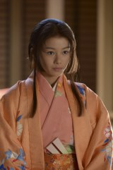 NHK大河ドラマ『江〜姫たちの戦国〜』で完(さだ)役を演じる山本舞香 (C)NHK