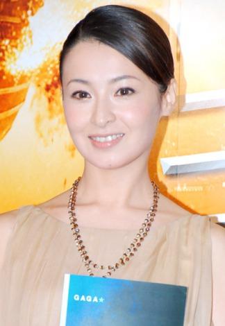 サムネイル 及川光博と結婚発表後、初の公の場に登場した檀れい (C)ORICON DD inc.