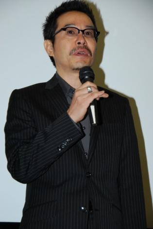 映画『家族X』初日舞台あいさつに登壇した田口トモロヲ (C)ORICON DD inc.
