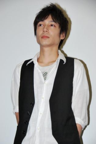 映画『家族X』初日舞台あいさつに登壇した郭智博 (C)ORICON DD inc.