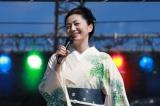 くるり主催の音楽フェス『京都音楽博覧会』に出演した石川さゆり Photo 黒瀬康之