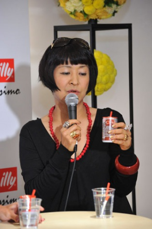 『illy issimo × BEAMS 十五夜のスペシャルナイトパーティー Supported by GINZA』イベントに出席した生駒芳子