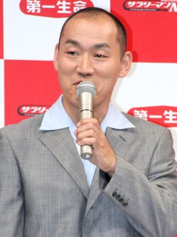 第一生命の『サラリーマン川柳コンクール』の第25回募集開始イベントに出席した山西惇 (C)ORICON DD inc.