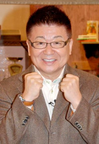 BSフジの新番組『生島ヒロシのココカラ元気!』の記者会見に出席した生島ヒロシ (C)ORICON DD inc.