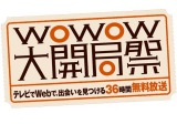 『WOWOW大開局祭』のロゴ