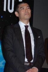 映画『はやぶさ/HAYABUSA』の公開初日舞台あいさつに登壇した高嶋政宏 (C)ORICON DD inc.