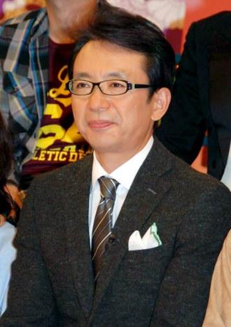 MBS・TBS系の新バラエティ番組『ジャパーン47chスーパー』の初回収録後に会見を行った福澤朗