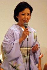 「第2回 日越友好音楽祭」記者会見に出席した伍代夏子 (C)ORICON DD inc.