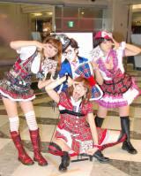 (左から)ルーキタエ、あやまん監督、ファンタジスタさくらだ (C)ORICON DD inc.
