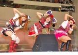 藤森慎吾とのコラボシングル「失恋ベイビー」発売記念イベントを行ったあやまんJAPAN (C)ORICON DD inc.