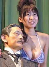 映画『ユメ十夜』の試写会イベントに出席した夏目理緒 (C)ORICON DD inc.