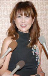 弟・林家三平と国分佐智子夫妻の結婚披露宴に出席した泰葉 (C)ORICON DD inc.
