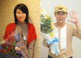 西川美和監督最新作『夢売るふたり』に主演する松たか子と阿部サダヲがクランプアップ