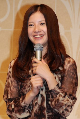 ドラマ『私が恋愛できない理由』記者会見に出席した吉高由里子 (C)ORICON DD inc.