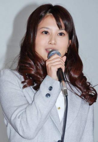 BS朝日の連続ドラマ『王様の家』の制作発表会見に出席した佐津川愛美