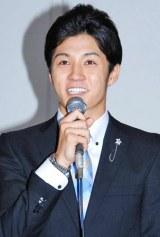 BS朝日の連続ドラマ『王様の家』の制作発表会見に出席した春川恭亮(劇団EXILE)