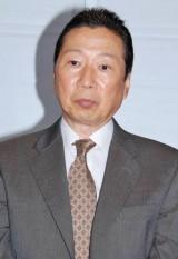 BS朝日の連続ドラマ『王様の家』の制作発表会見に出席した石倉三郎