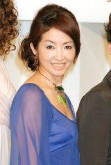 舞台『8人の女たち』製作発表会見に出席した荻野目慶子 (C)ORICON DD inc.