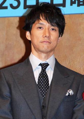 新ドラマ『僕とスターの99日』(フジテレビ系)の制作発表会見に出席した西島秀俊 (C)ORICON DD inc.