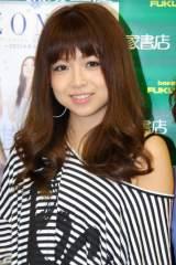 写真集『一期一会 ZONE〜2011年8月の軌跡〜』発売イベントを行ったZONEのMIYU (C)ORICON DD inc.