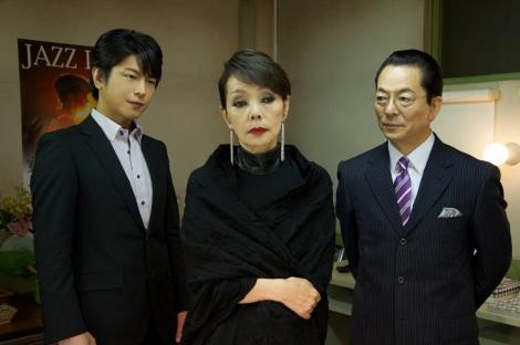 『相棒season10』の第6話で伝説のジャズシンガーを演じる研ナオコ (C)テレビ朝日