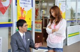 BSフジ主演ドラマ『T-UP presents サムズアップ』で中古車を擬人化した奇抜な役を演じる優香(右) (C)フジテレビジョン