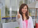 BSフジ主演ドラマ『T-UP presents サムズアップ』で中古車を擬人化した奇抜な役を演じる優香 (C)フジテレビジョン