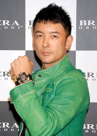 イタリアの時計ブランド『ブレラ オロロジ』日本上陸記念パーティーに来場した山本太郎 (C)ORICON DD inc.