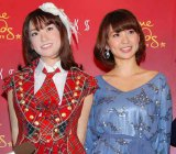 『マダム・タッソー東京』でAKB48・大島優子の等身大フィギュアがお披露目