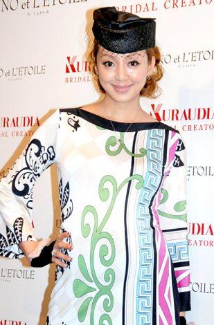 サムネイル 第1子の出産を発表した神田うの(※写真は当時妊娠8ヶ月目) (C)ORICON DD inc.