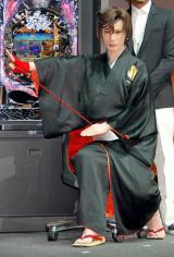 「組紐屋の竜」の扮装姿を28年ぶりに披露した京本政樹 (C)ORICON DD inc.
